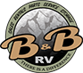 B&B RV Sticky Logo