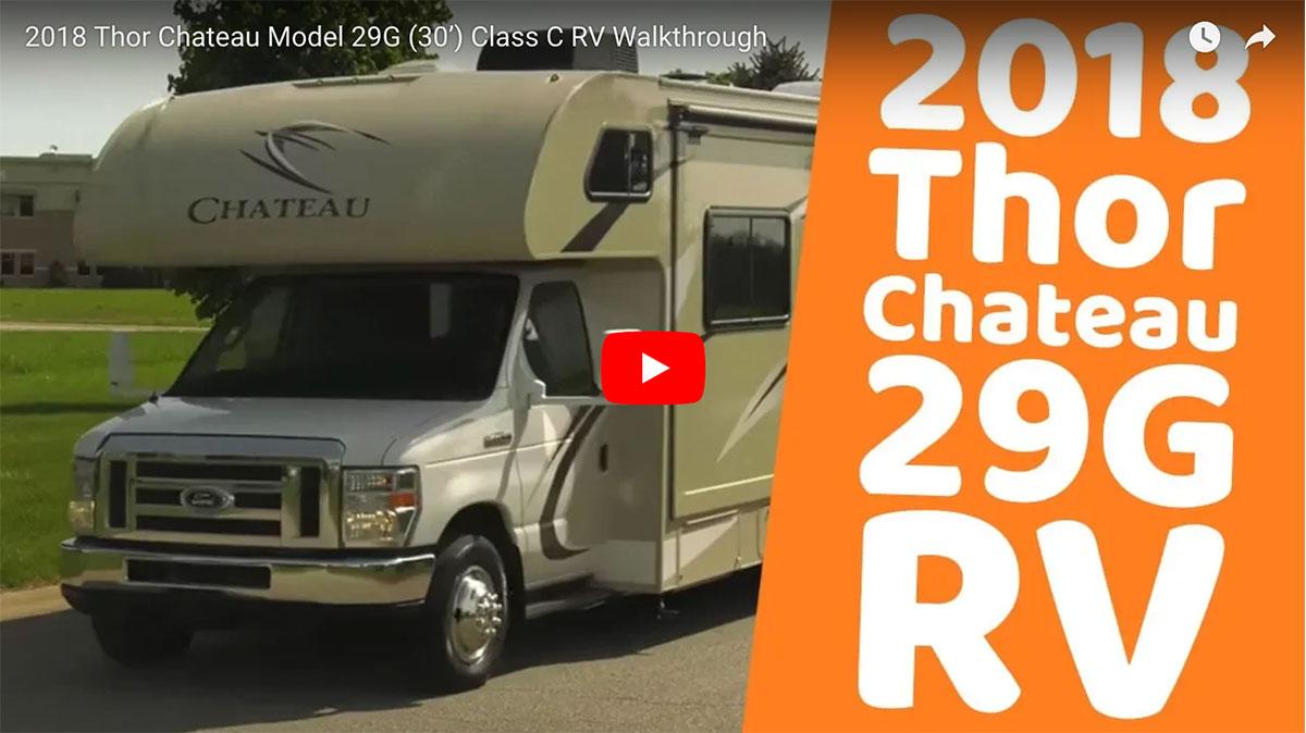 2018 Thor Chateau Model 29G