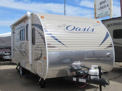 2017 Shasta Oasis 18BH Bunk House 9604