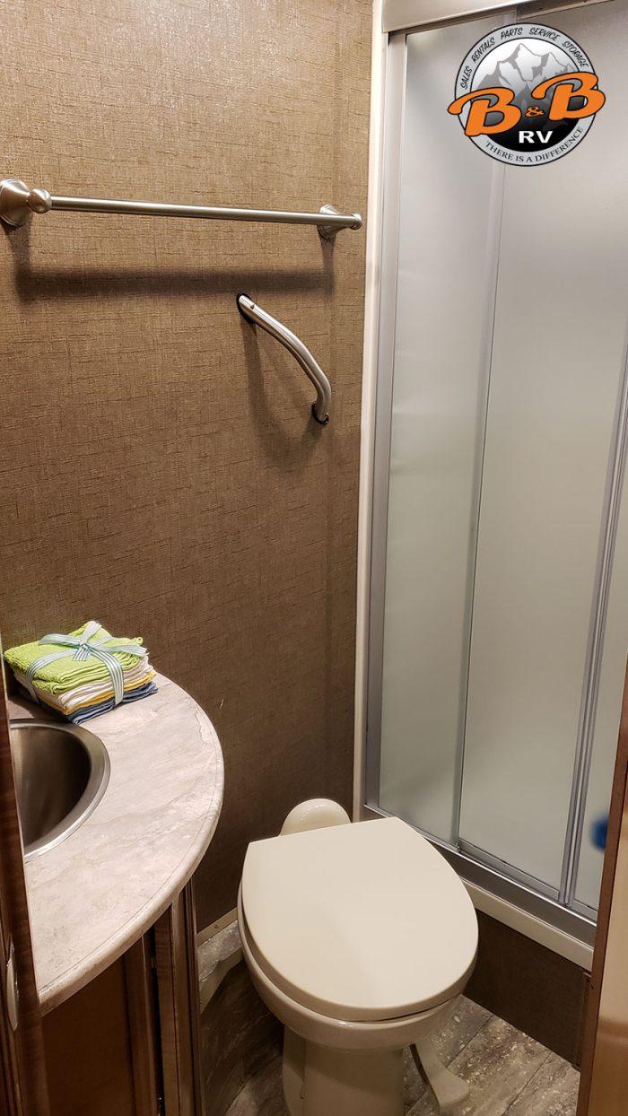Mercedes Diesel 24S RV Bathroom