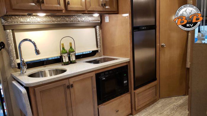 Mercedes Diesel 24S RV Kitchen