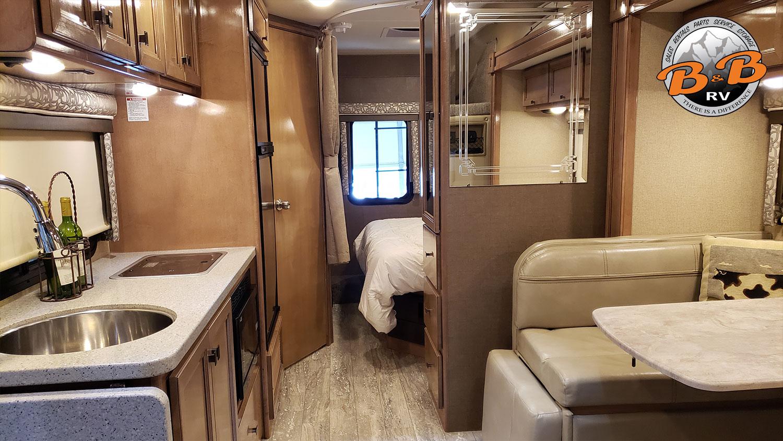 Mercedes Diesel 24S RV Living Area