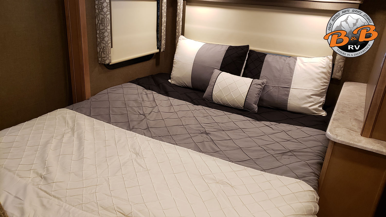 Mercedes Diesel 24S RV Master Bedroom