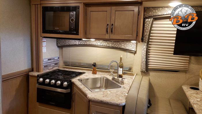 Thor Chateau Class C RV 28Z Kitchenette