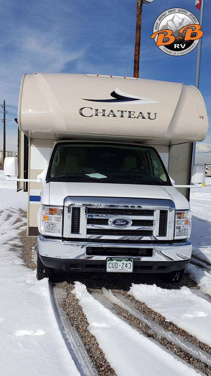 Thor Chateau Class C RV 30D Exterior Front