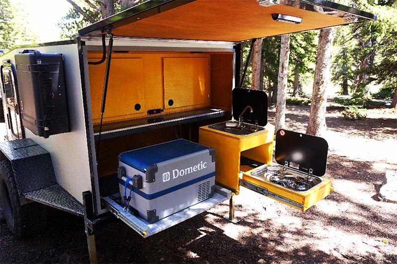 into the wild overland trailer in Denver
