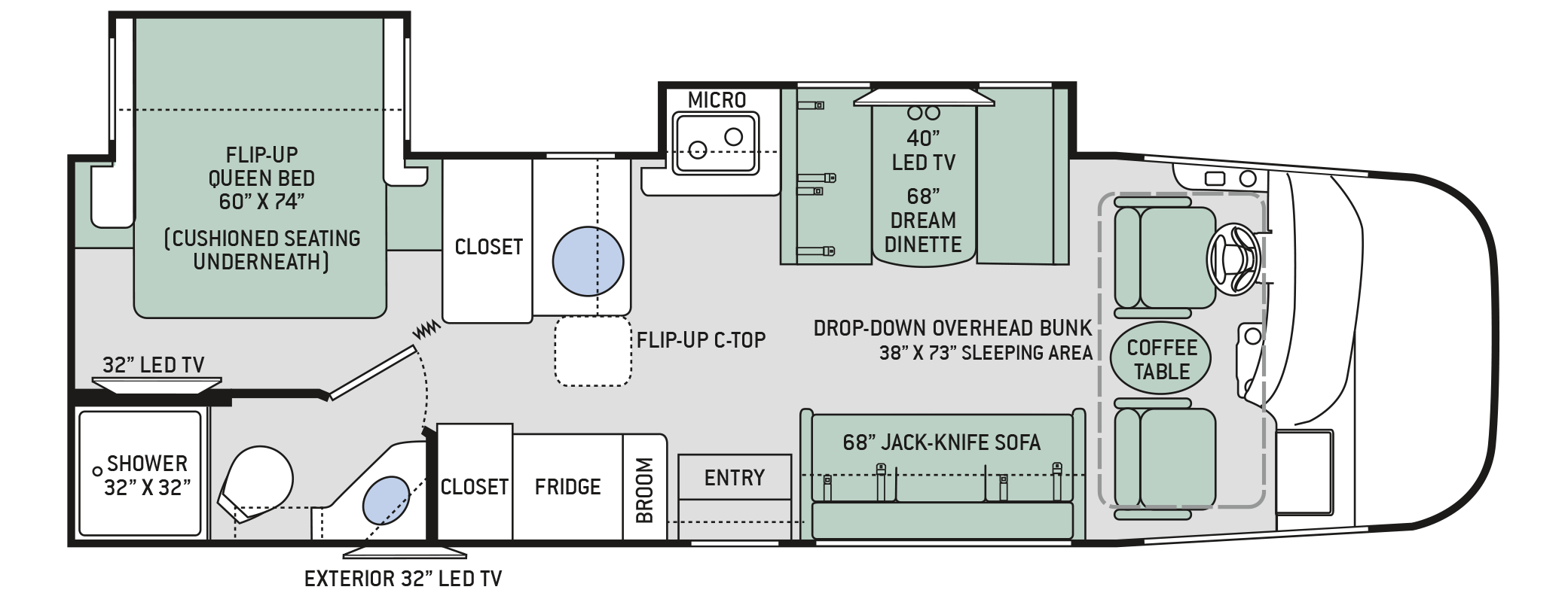 Vegas Floor Plan