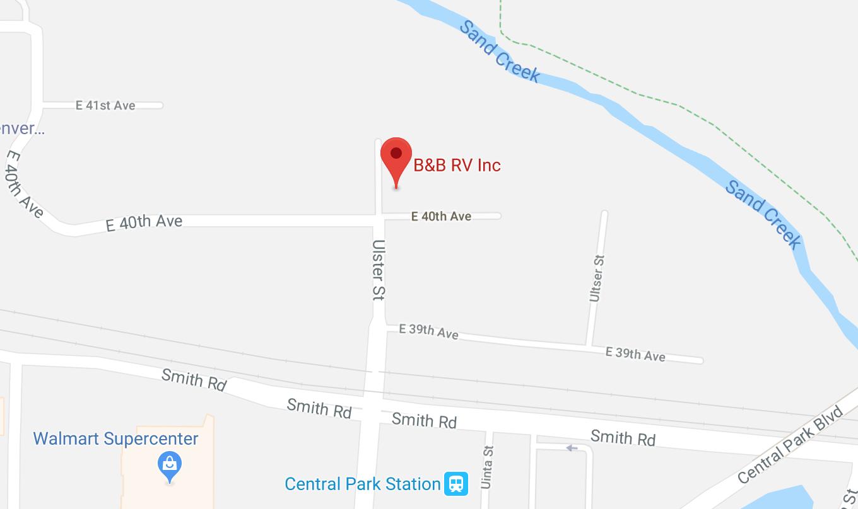 B&B RV, Inc. Google Maps