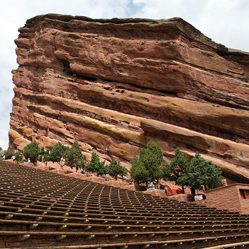 Photo Red Rocks Amphitheater Colorado