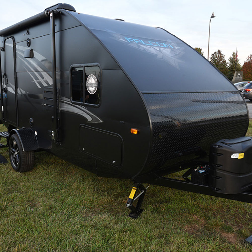 Travel Campers: Falcon Trailers By Travelite