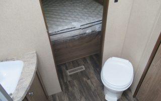 Revere 27RL Trailer Bathroom