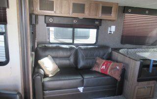 Revere 27RL Trailer Couch
