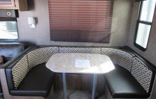 Revere 27RL Trailer Dining Area