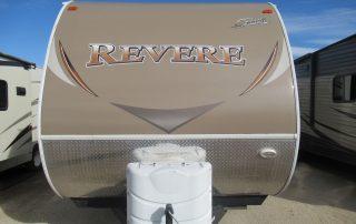 Revere 27RL Trailer Front