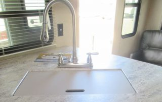 Revere 27RL Trailer Kitchen Sink