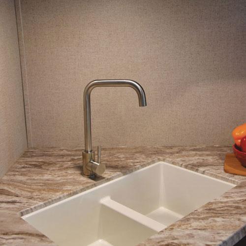 kitchen sink in shasta revere travel trailer
