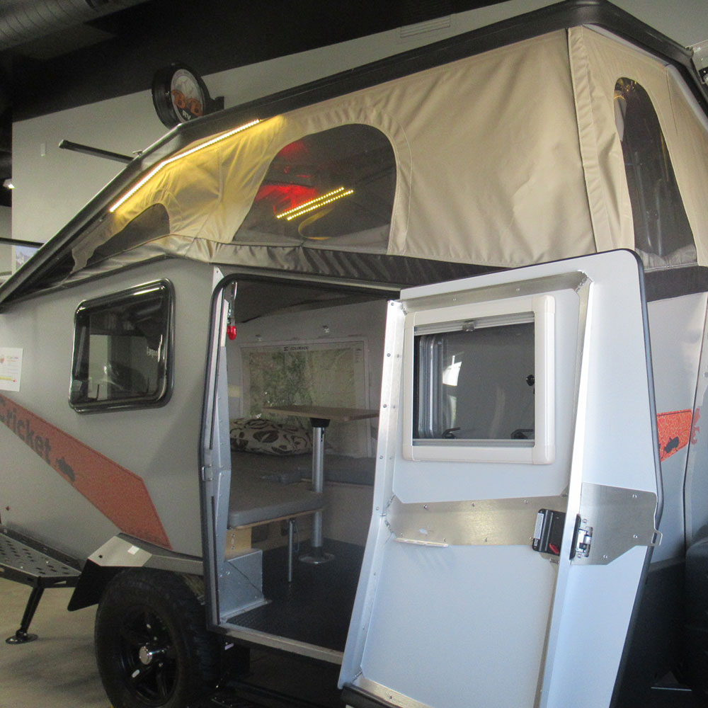 Cricket Trailers By Taxa Outdoor Your Adventure Begins Here Bb Rv Our Camper Trailer Wiring Ultimate