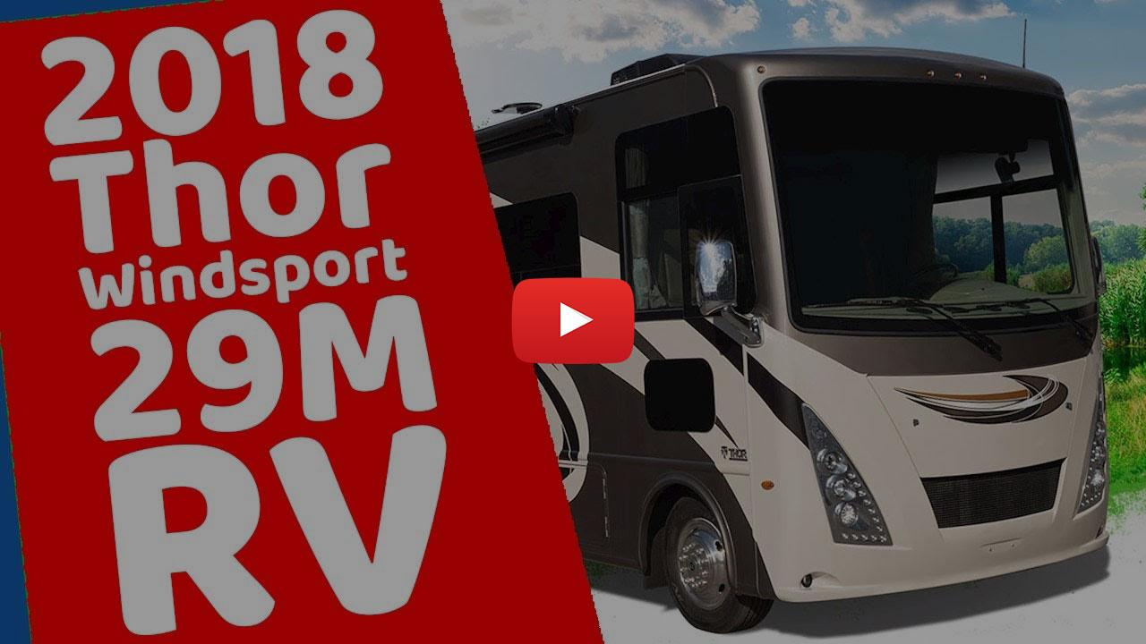31' Class A RV Rental w 1 Slide 29A Video Tour