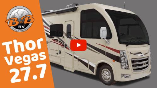 28' Class A RV Rental w 2 Slides 27A Video Tour