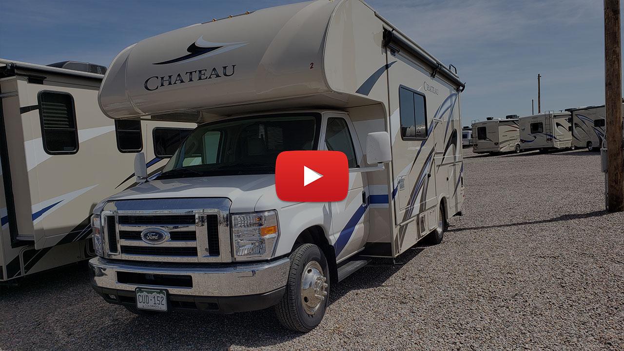 2018 Thor Chateau Model 24F Video Walkthrough