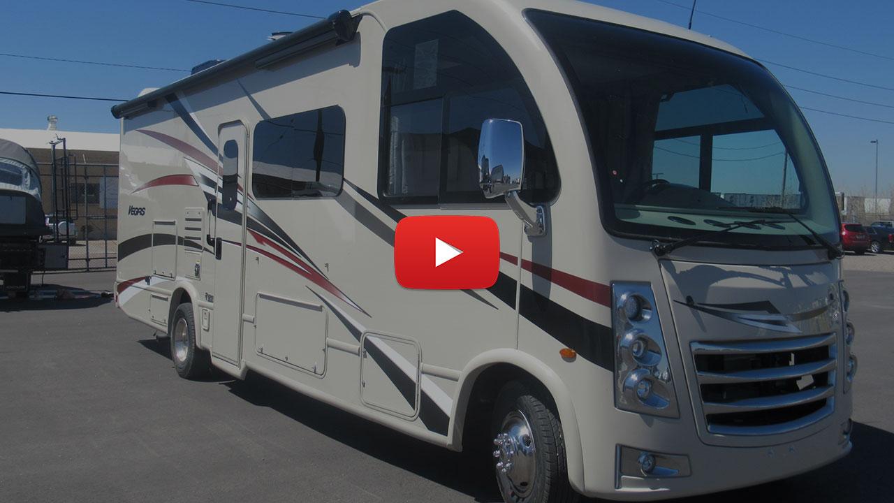 31' Class A RV Rental w 1 Slide 27A Video Tour