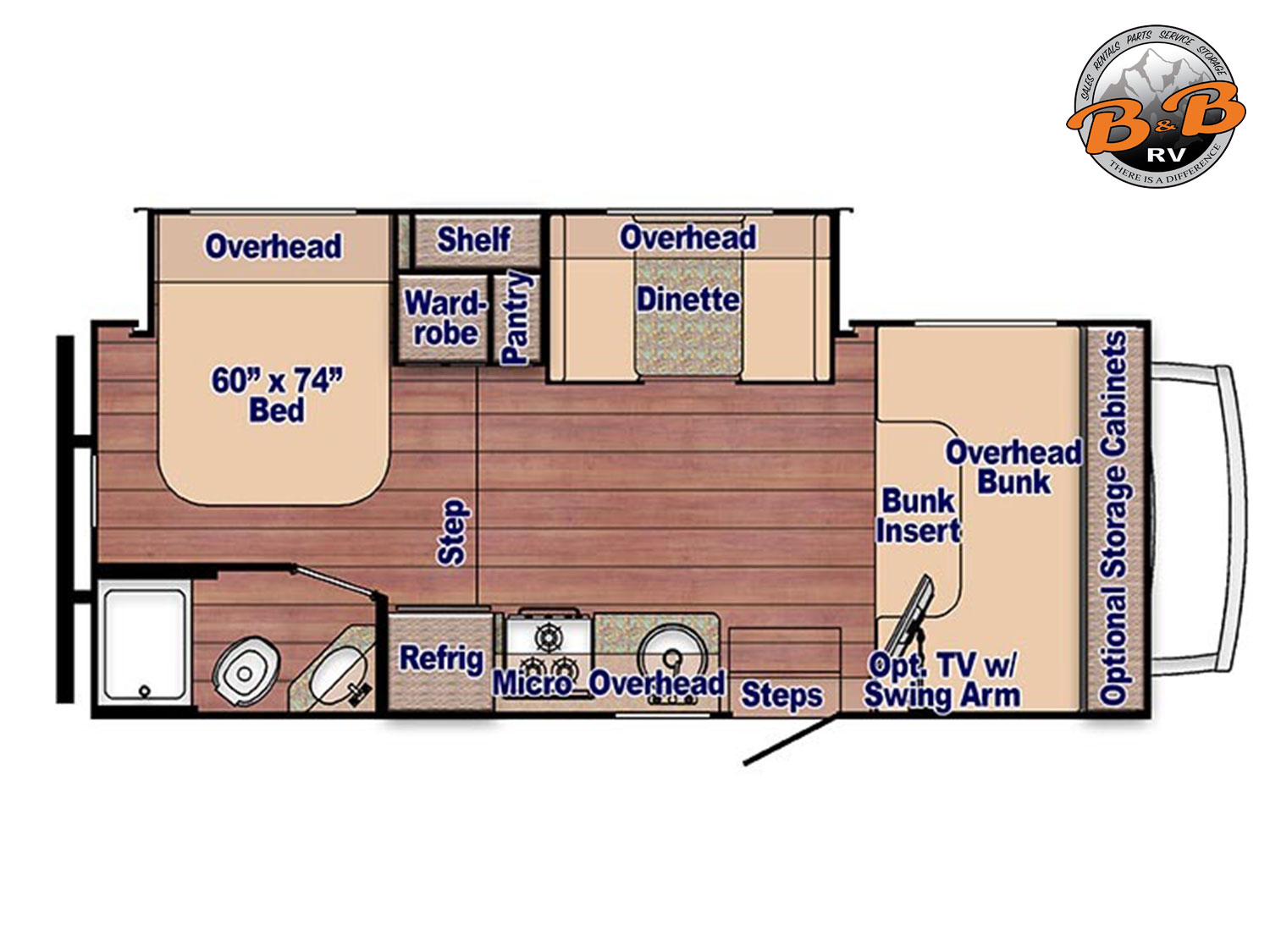 2020 Gulf Stream Conquest 6245 Floorplan