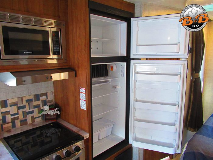 2020 Gulf Stream Conquest 6245 Fridge Open