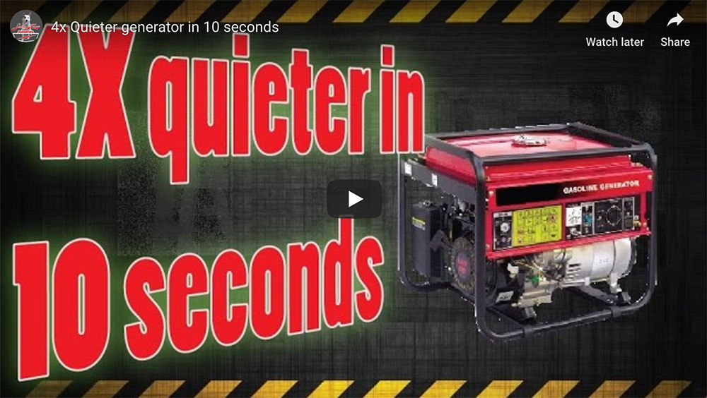 How To Quiet A Generator | 8 Tips To Quiet A Noisy Generator