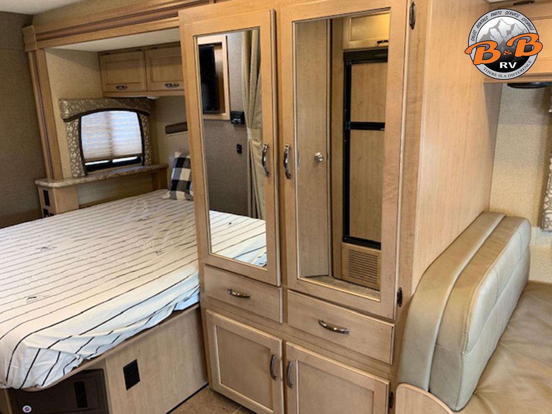 2019 Thor Chateau 24F Master Bedroom Closet