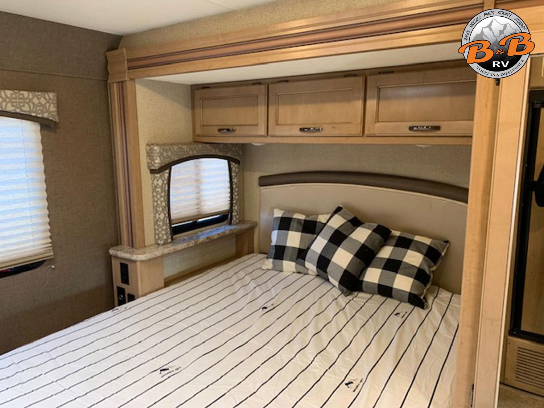 2019 Thor Chateau 24F Master Bedroom Storage