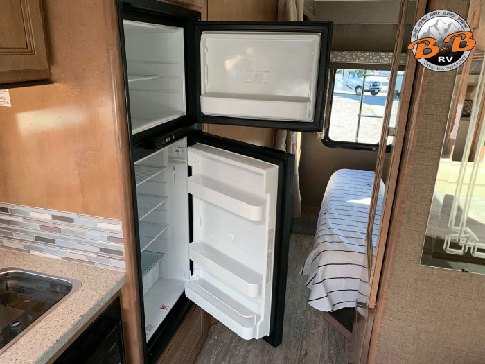 2019 Thor Citation 24SS Refrigerator Open