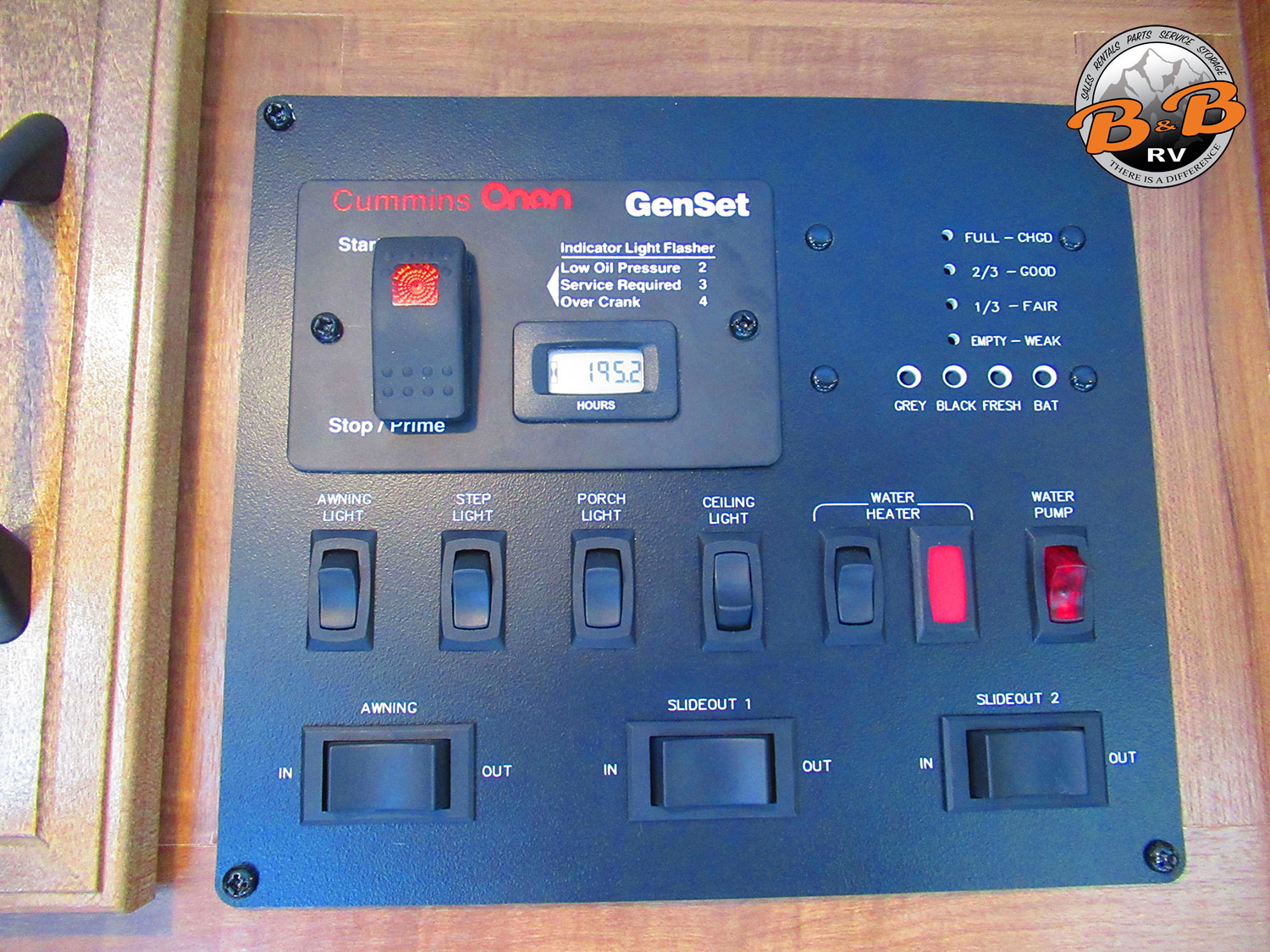 2020 Gulf Stream Conquest 6320 Control Center