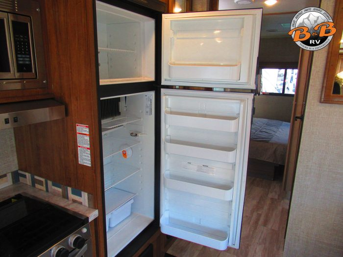 2020 Gulf Stream Conquest 6320 Fridge Open