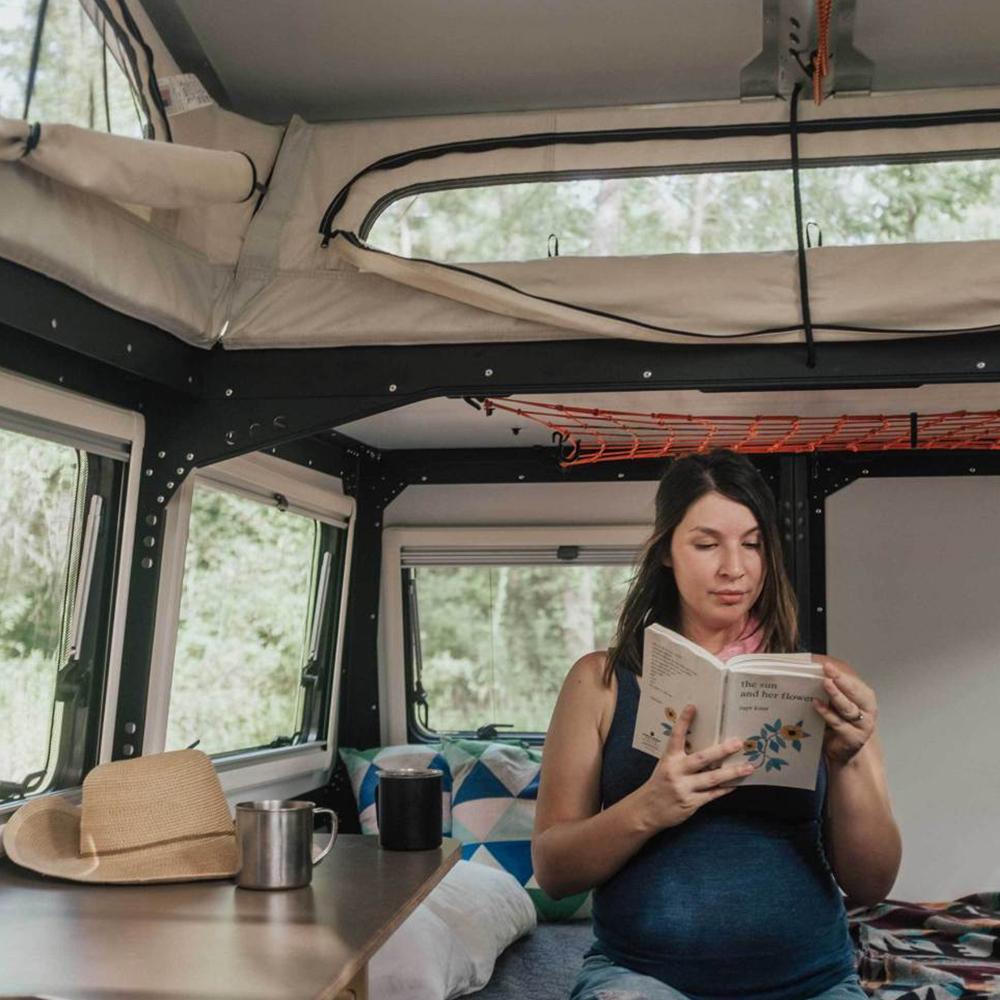 Taxa Mantis Trailer Spacious Living Room small